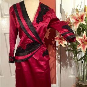 Yukiya original tailored made embroidered suit